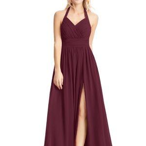 Azazie Veronica Cabernet Dress